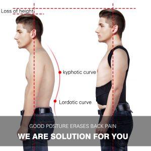 test mal dos correcteur posture yimidon